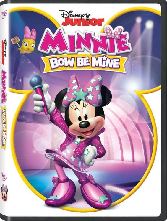 disney minnie bow be mine blu-ray giveaway