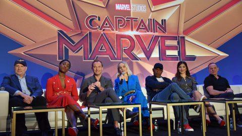 captain marvel cast interview
