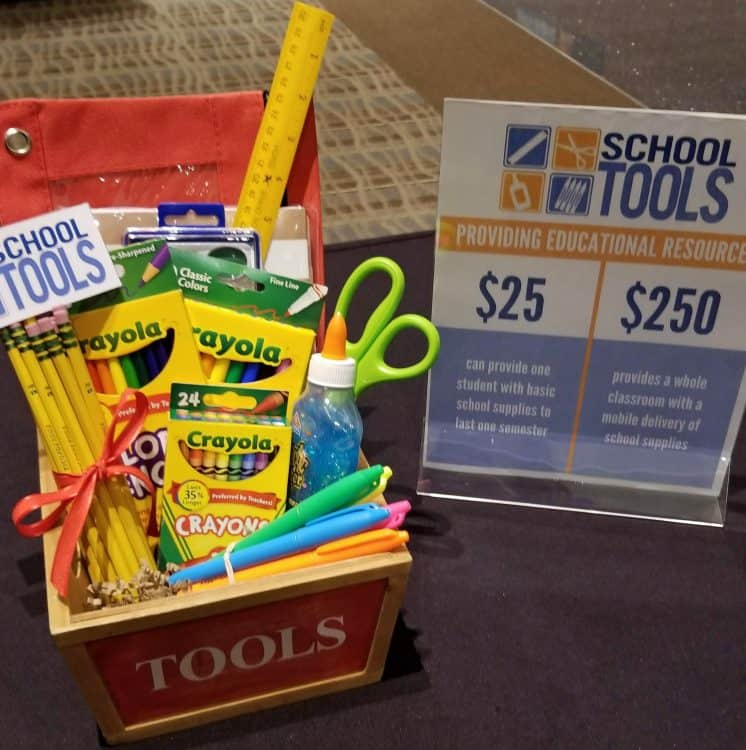 United Way school tools