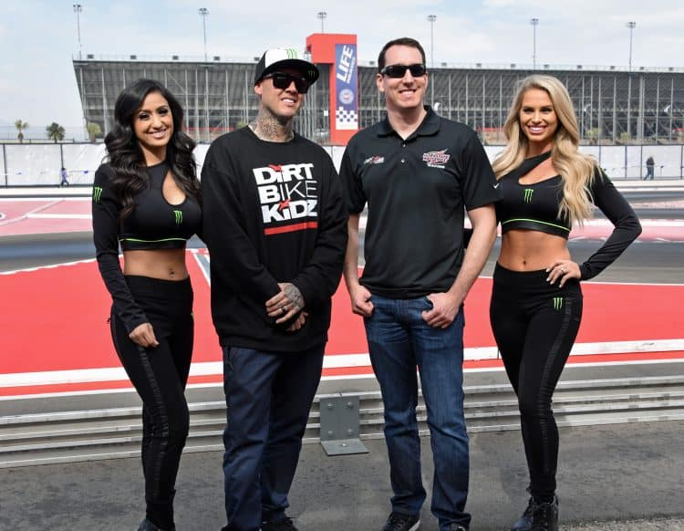 NASCAR driver Kyle Busch interview