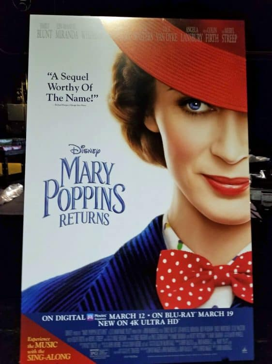 mary poppins blu-ray release