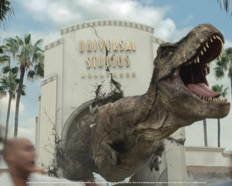 New Jurassic World ride opens at Universal Studios Hollywood