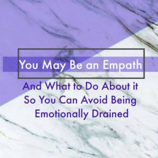 you may be an empath