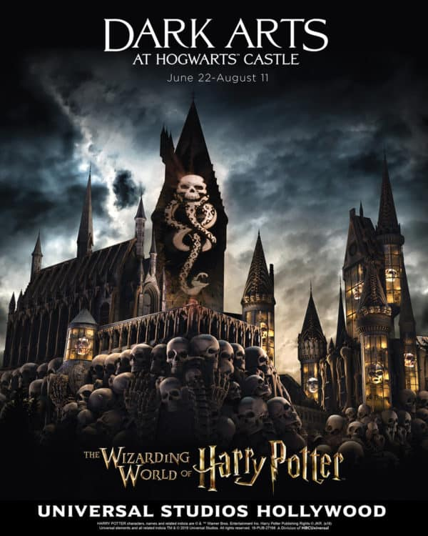 wizarding world of harry potter dark arts at universal studios hollywood as the universal studios california neighbor pass returns