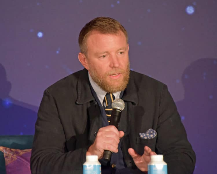 guy ritchie at the aladdin cast interview
