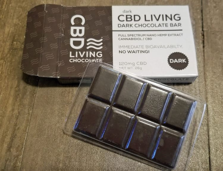 hemp cbd chocolate bar