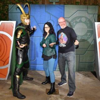 Disneyland After Dark Heroes Assemble with Loki