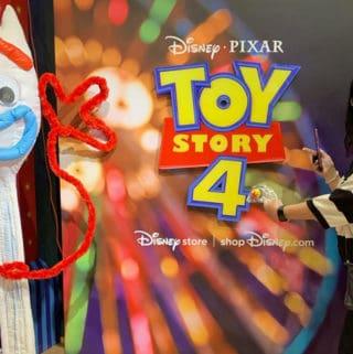 disney store toy story forky selfie