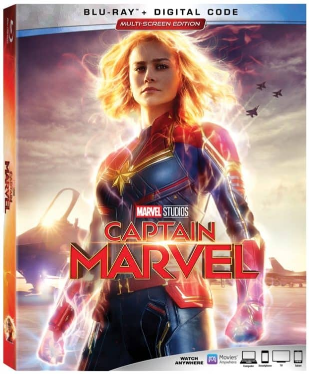 Captain Marvel on Blu-ray June 11