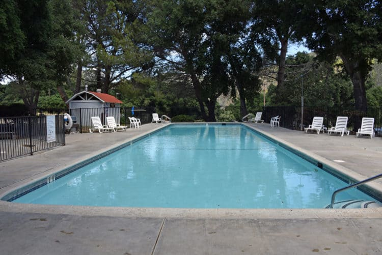 pool at rancho oso santa barbara rv resort