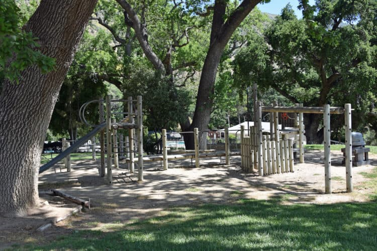 play area at rancho oso santa barbara rv resort