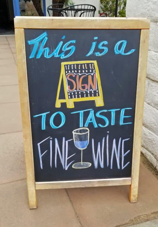 wine tasting on our santa barbara getaway