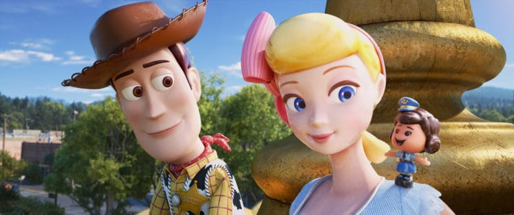 Toy Story 4 Woody and Bo Peep and Giggle