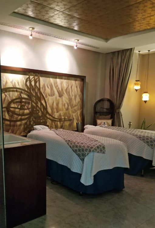 couples spa room at Marival Residences
