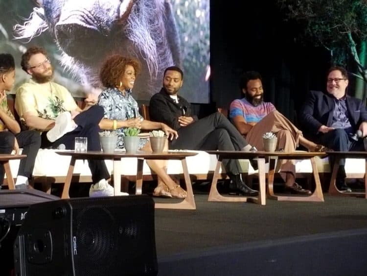 donny glover and cast of the lion king