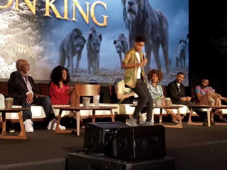 cast of the lion king movie