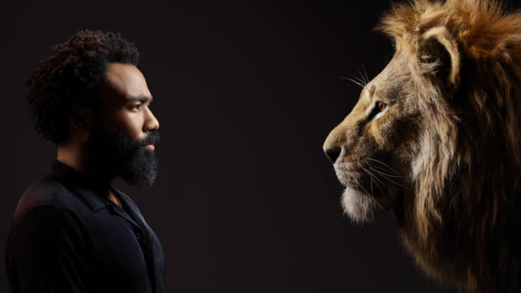 photos of Lion King cast, Donald Glover and Simba
