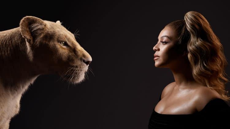 Beyonce and Nala