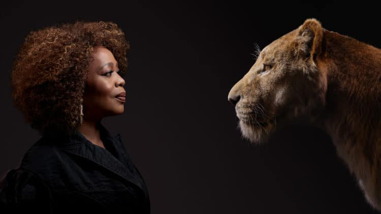 Photos of Lion King cast, Alfre Woodard in Lion King