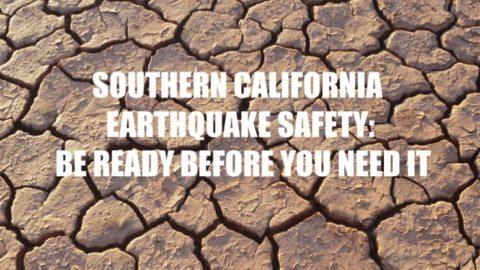 California earthquake safety