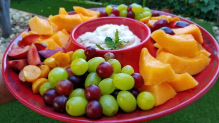 healthy creamsicle dip recipe