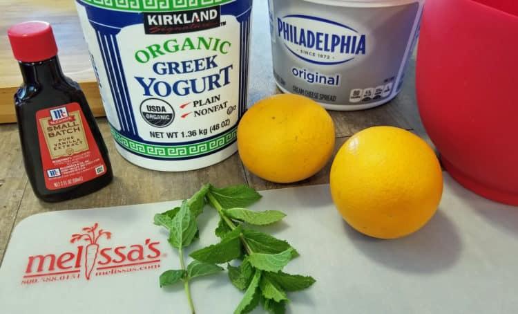 healthy creamsicle dip recipe ingredients