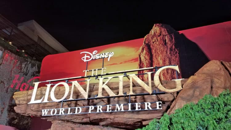 lion king premiere