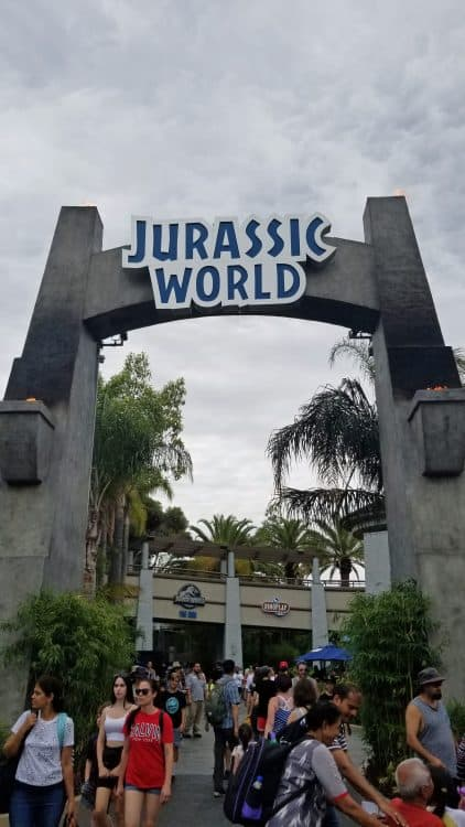 jurassic world the ride open