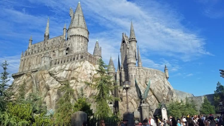 hogwart's at universal studios hollywood