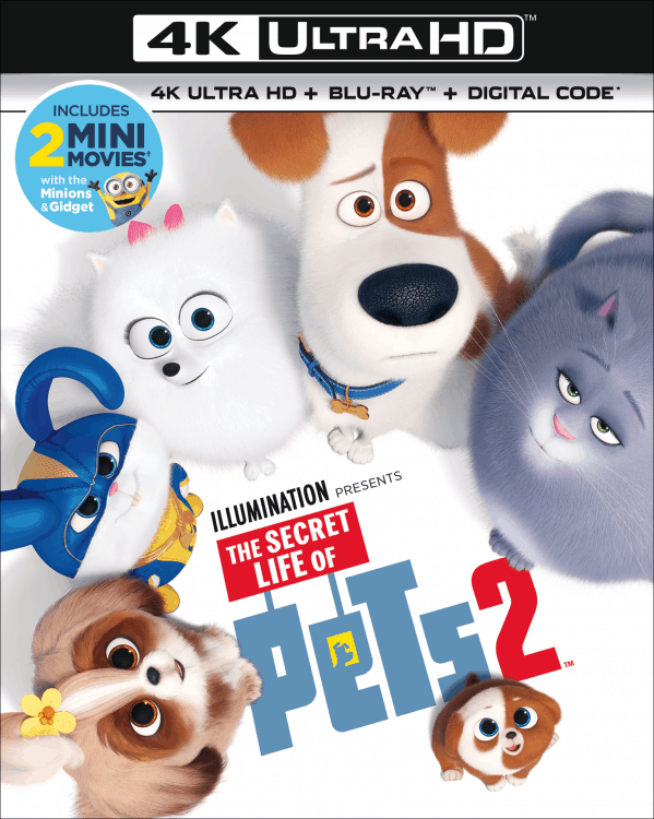 secret life of pets 2 on blu-ray