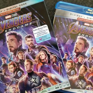 avengers endgame deleted scenes on blu-ray