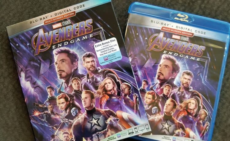 avengers endgame deleted scenes on blu-ray