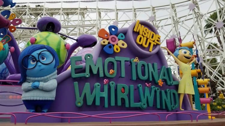 emotional whirlwind at disney california adventure