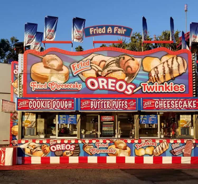 la county fair fried food