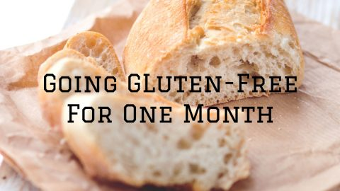 going gluten-free for one month