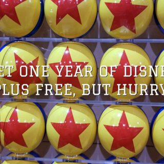 one year disney plus free special offer