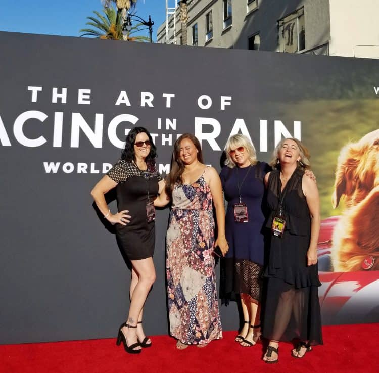 art of racing in the rain premiere