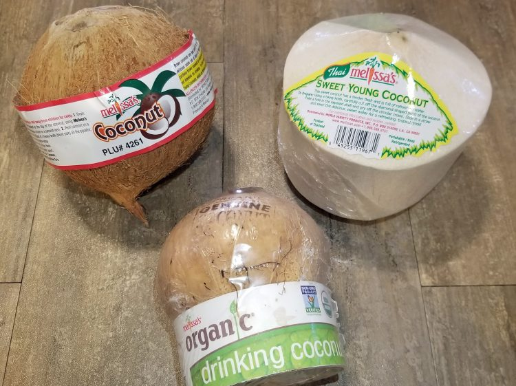 melissa's produce coconut products