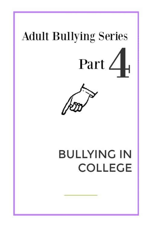 bullying in college