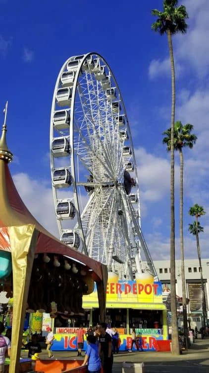 la county fair ferris wheel