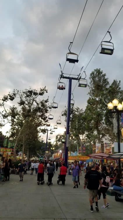 2019 la county fair midway