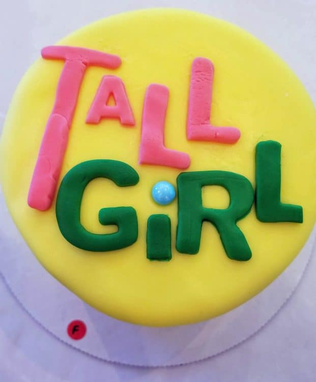 tall girl cake