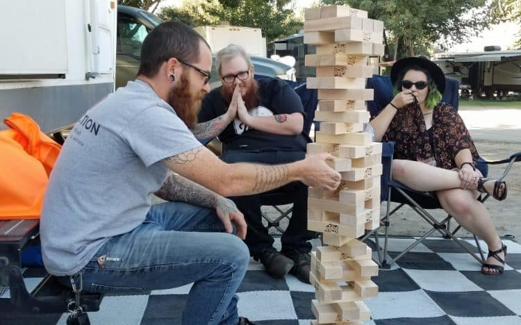 Jenga Giant outdoor family games