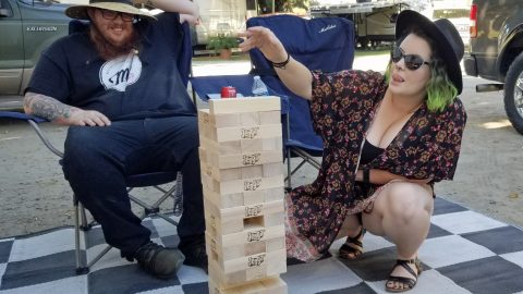 outdoor family games
