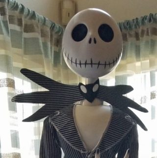 life size jack skellington at wayfair