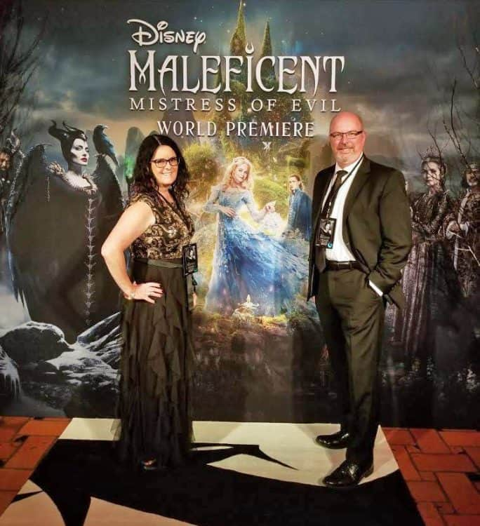 red carpet premiere of Maleficent: Mistress of Evil