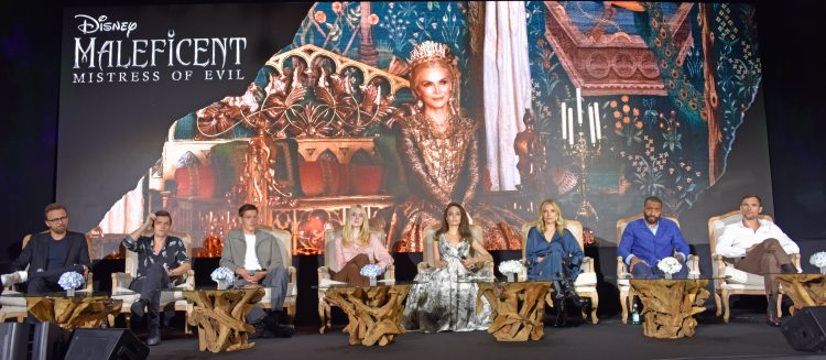 maleficent 2 cast interview