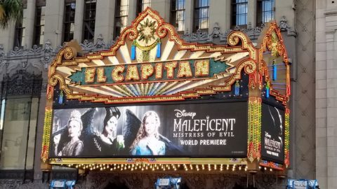 red carpet at the maleficent mistress of evil premiere at the el capitan