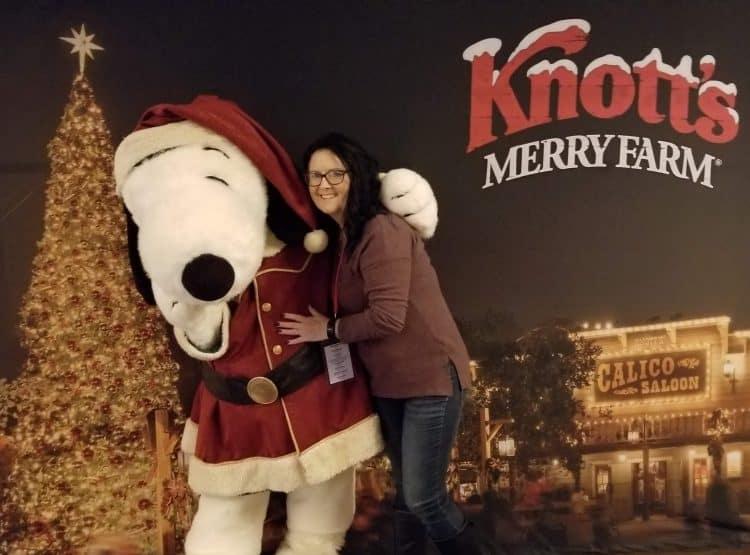 snoopy at Knott's Merry Farm