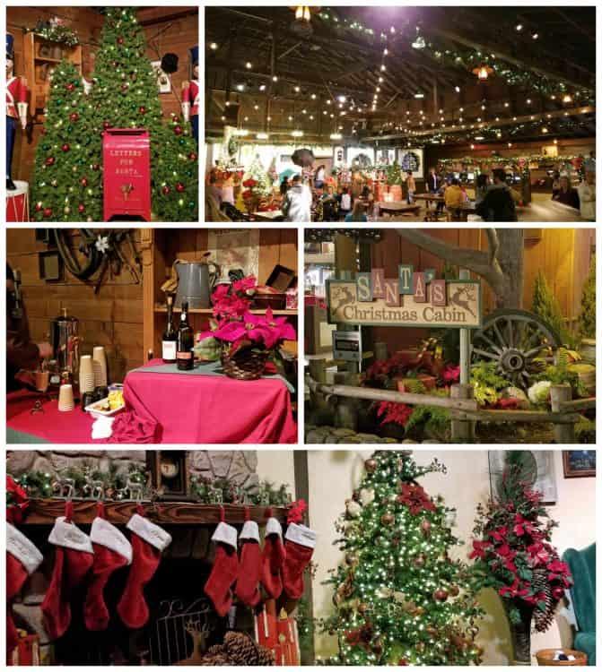 santa's christmas cabin at knott's